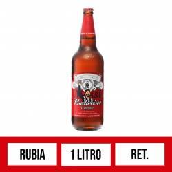 Cerveza Budweiser Retornable x 1 Lt.