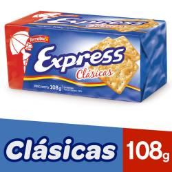 Galletitas Cracker Express Clásicas x 108 g.
