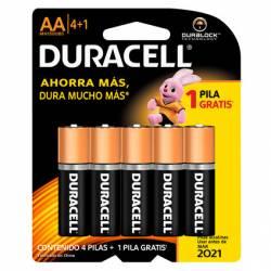 Pila Alcalina AA Duracell x 5 un.