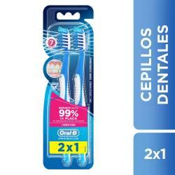 Cepillo Dental Pro Salud Oral-B 7 Beneficios x 2 un.