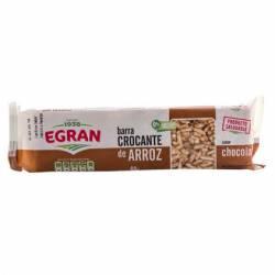 Barra Crocante de Arroz Egran con Chocolate x 60 g.
