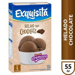Polvo para Preparar Helado Exquisita Chocolate x 52 g.