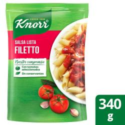 Salsa Knorr Filetto Doy Pack x 340 g.