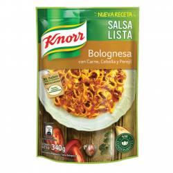 Salsa Bolognesa Knorr Doy Pack x 340 g.