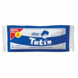 Alfajor Dulce de Leche Tatín con Baño Chocolate Blanco x 6 un. 198 g.