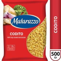 Fideos Codito Matarazzo x 500 g.