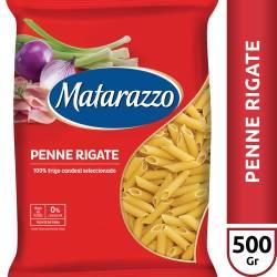 Fideos Penne Rigate Matarazzo x 500 g.