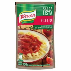 Salsa Knorr Filetto Doy Pack x 200 g.
