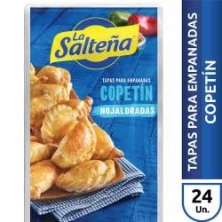 Tapas para Copetín La Salteña x 24 un. 380 g.