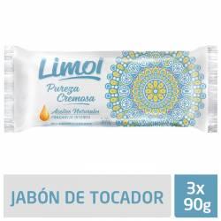 Jabón de Tocador Limol Secreto Cremoso x 3 un. 270 g.