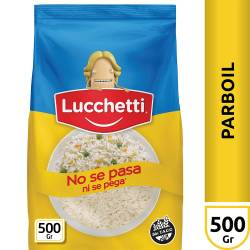Arroz Parbolizado Lucchetti Bolsa x 500 g.