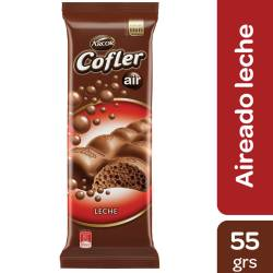 Chocolate con Leche Aireado Cofler x 55 g.