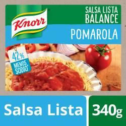 Salsa Pomarola Knorr Pomarola Light Doy Pack x 340 g.