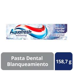 Crema Dental Aquafresh Intense White x 158 g.