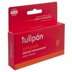 Preservativos Tulipán Texturados x 6 un.