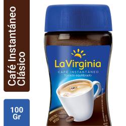 Café Instantáneo La Virginia x 100 g.