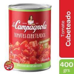 Tomate Cubeteado La Campagnola x 400 g.
