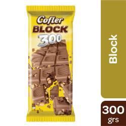 Chocolate con Leche con Maní Cofler Block x 300 g.