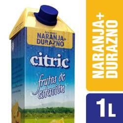 Jugo Naranja-Durazno Citric x 1 Lt.