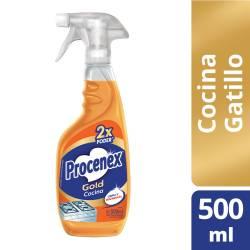 Limpiador Líquido Cocina Procenex Antigrasa Gatillo x 500 cc.