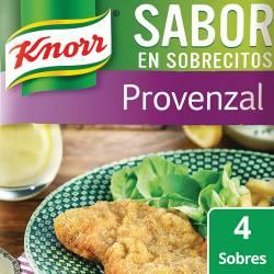 Saborizante x 4 sobres Knorr Provenzal x 30 g.