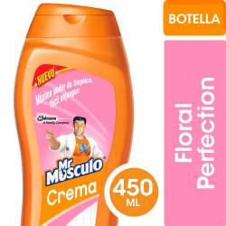 Limpiador Cremoso Mr. Músculo Floral x 450 cc.