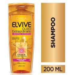 Shampoo Elvive Óleo Nutrición x 200 cc.