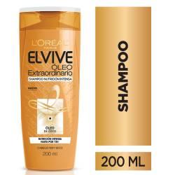 Shampoo Elvive Óleo Nutrición Intensa x 200 cc.