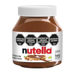 Crema de Avellanas y Cacao Nutella x 140 g.