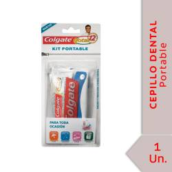 Kit Portable Cepillo + Total 12 Colgate x 30 g. x 1 un.