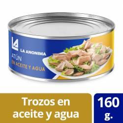 Atún en Aceite y Agua Trozos La Anónima x 160 g.