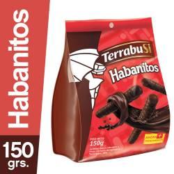 Galletitas Habanitos Terrabusi Bañadas con Chocolate x 150 g.