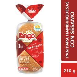 Pan para Hamburguesa Fargo con Sésamo x 4 un. 210 g.