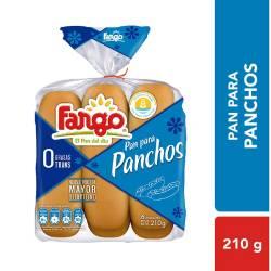 Pan para Pancho Fargo x 6 un. 210 g.