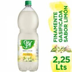 Agua con Gas Ser Limón x 2,25 Lt.