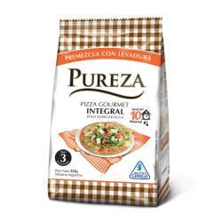 Harina Premezcla Pizza Integral Gourmet Pureza x 550 g.