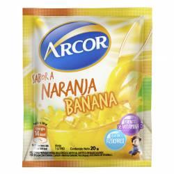 Polvo para Preparar Jugo Arcor Naranja-Banana x 20 g.