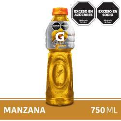Bebida Gatorade Manzana Pet x 750 cc.