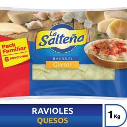 Ravioles 4 Quesos La Salteña x 1 Kg.