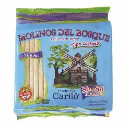 Tostadas de Arroz sin Sal Molinos del Bosque x 150 g.