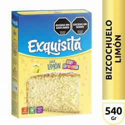 Polvo para Preparar Bizcochuelo Exquisita Limón x 540 g.
