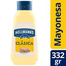Mayonesa Hellmanns Clásica Pet x 332 g.