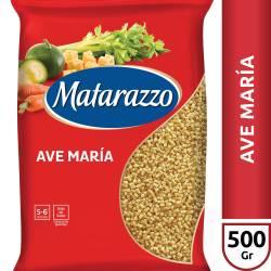 Fideos Ave María Matarazzo x 500 g.