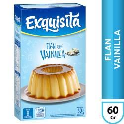 Flan de Vainilla Exquisita 8 Vitaminas x 60 g.