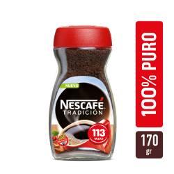 Café Instantáneo Clásico Nescafé Cuerpo y Aroma x 170 g.