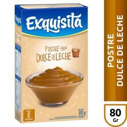 Postre en Polvo Dulce de Leche Exquisita x 80 g.