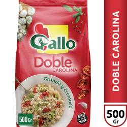 Arroz Doble Carolina Gallo x 500 g.