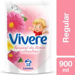 Suavizante Vivere Flores Silvestres Doy Pack x 900 cc.