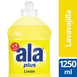 Detergente Líquido Ala Limón Plus x 1,25 Lt.