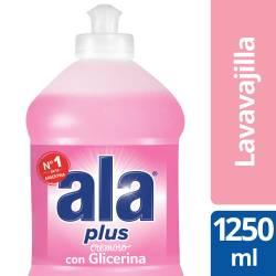 Detergente Líquido Ala Glicerina Plus x 1,25 Lt.